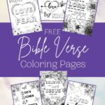 Bible Verse Coloring Pages mock up
