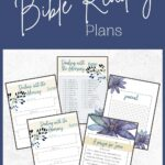 Printable Bible Reading Plan mockup