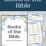 Printable Books of the Bible mock up