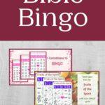 Bible Bingo mockup