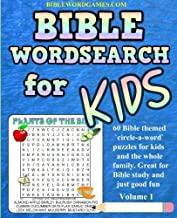 Bible Word Search Book or Kids