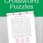Bible Word Search Puzzle ona faux wooden background