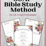 How to do a SOAP Bible Study mockup