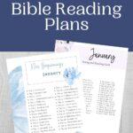 January Bible Reading Plans