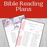 July Bible Reading Plan mockup