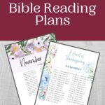 November Bible Reading Plan mockup