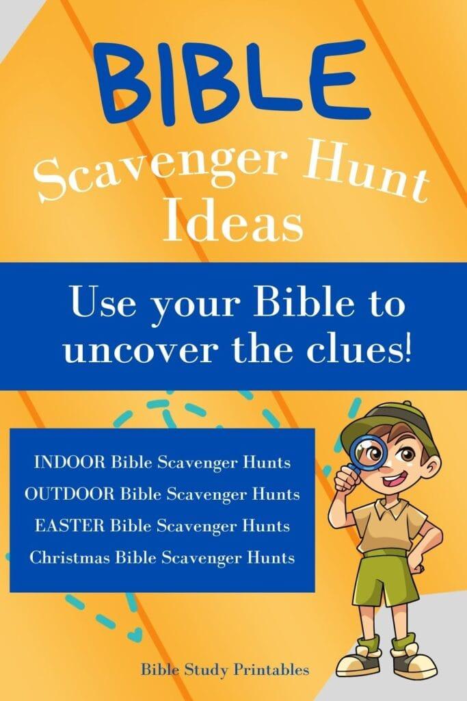 Bible Scavenger Hunt Promotional Banner