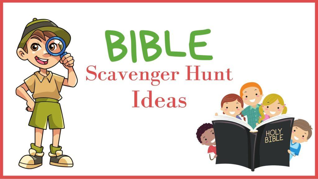 Bible Scavenger Hunts Cover Image